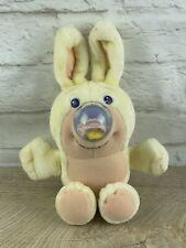 Vtg 80s 1989 HTF Playskool Easter Egg Nosy Bear Bunny Rabbit Plush Rare
