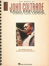 The Music of John Coltrane Transcribed Book New 000660165