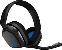Astro A10 PS4 Gaming Wired Headset Headphones with mic Black Blue Playstation