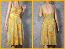 Vintage 50s DeWeese Design floral Swim Rockabilly Pin Up cruise mini dress XS 0