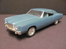 AMT 1970 Chevrolet Monte Carlo Promo Car - Astro Blue Met., Near Mint Condition!