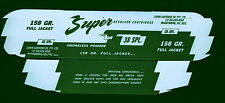 Super Ammunition Box, 38 Spl (Box only-no cartridges) , Mint Condition