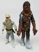 Star Wars 2003 2004 Hasbro Hoth Luke Skywalker Chewbacca Escape Action Figure