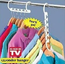 1pc Room Space Saver Hanger Wonder Closet Organizer Magic Clothes Rack Home Tool