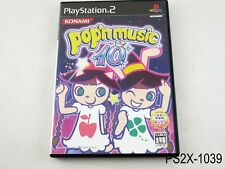 Pop'n Music 10 Playstation 2 Japanese Import Japan JP Bemani PS2 US Seller B