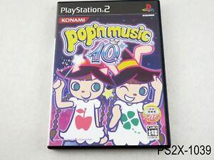 Pop'n Music 10 Playstation 2 Japanese Import Japan JP NTSCJ Bemani PS2 US Seller