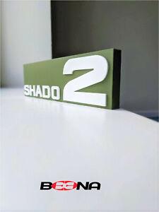 Decorative SHADO 2 (Dinky Toys) self standing logo display