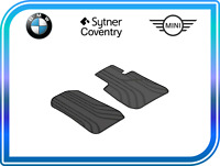 BMW Genuine Front All-Weather Floor Mats Anthracite 3 Series F30,F31 51472339778