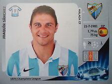 Panini 223 Joaquín Sánchez Málaga CF uefa cl 2012/13