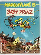 Marsupilami tome 5 Baby Prinz Hardcover 1990 Franquin Yann Patem French Comics