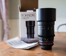 Rokinon Cine DS 135mm T2.2 ED UMC Telephoto Cine Lens for Nikon - DS135M-N