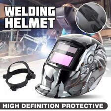 Kinso Solar Auto Darkening Welding Helmet Arc Tig Mig Mask Grinding Hood USA