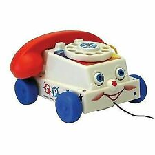 Fisher Classics 1694 Chatter Telephone Pull Along Phone