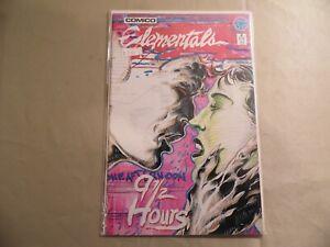 Elementals #8 (Comico 1986) Free Domestic Shipping