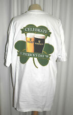 Guinness and Harp Lager St. Patrick's Day 1998 T-Shirt Size Xl White Nwop