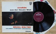 R367 PHILIPS A 01417 L BRUNO WALTER DVORAK SYMPHONY No.5 FROM THE NEW WORLD