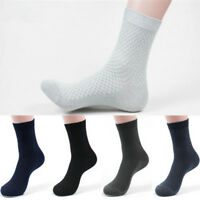 Men Bamboo Fiber Stockings Socks Casual Business Toe Boot Cotton Work Socks JT