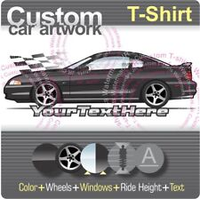 Custom T-shirt 1994 95 96 97 1998 Mustang GT SVT Cobra not affiliated with ford