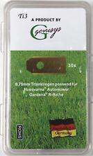 30 TITAN Ersatz Messer Klingen Husqvarna Automower Gardena Mähroboter 0,75mm