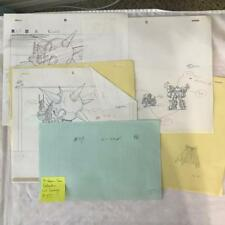 TRANSFORMERS JAPANESE BEAST WARS 2 II PRODUCTION ART LIO CONVOY GALVATRON LOT 55