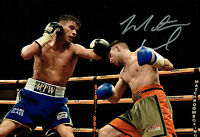 Martin J WARD Signed 12x8 Autograph Boxing Photo AFTAL COA Boxer