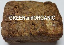 1/0.9kg/237ml Premium 100% Brut Bio Savon Noir Africain Barre Herbes Naturel