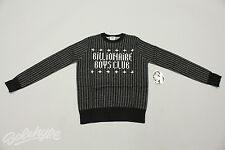 BILLIONAIRE BOYS CLUB BBC LS 16 BIT CREWNECK SWEATER BLACK B0113S102 001 SZ XL