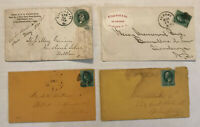 Group of 4 3 cent banknote covers [y3906]