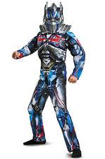 Transformers Optimus Classic Muscle Costume Wrist Communicator & Shield  L 10-12