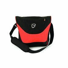 "Fusion F1 Laptop Courier Orange - 13"" - 15"" Laptop Messenger Bag Shoulder Strap"