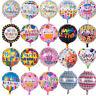5x/Set Happy Birthday Aluminum Foil Balloons Birthday Wedding Party Decoration F