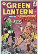 Green Lantern #39 September 1965 VG+ Black Hand