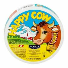 Happy Cow Cheese 120g 8 portions 100% Organic Natural Ceylon Free Shipping