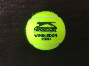 Slazenger 2020 Wimbledon Tennis Ball.