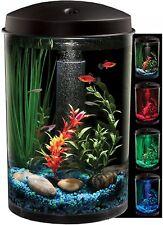 Starter Aquarium Kit Energy-Efficient Led Lighting Undergravel Filter 3 Gallon