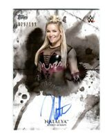 WWE Natalya 2018 Topps Undisputed On Card Autograph SN 29 of 199