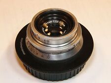 Tessar 3.5/50mm #3012632 Full frame lens with Canon EOS bayonet,Carl Zeiss