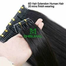 8A 10-32inch 6D Micro Hair Extensions Remy Hair 50gram 100Strands 10Rows