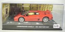 James Bond 007 Collection 1/43 Lamborghini Diablo Die another Day in Box #5670