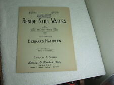 Beside Still Waters Sacred Song, Bernard Hamblen