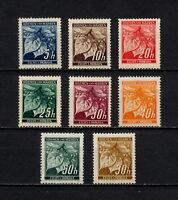 (YYAG 939) Bohemia Moravia 1939 1941 MNH WWII Germany Czechoslovakia