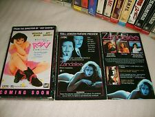 Vhs *ZANDALEE* 1991 Mega Rare (Not For Sale) Dealer Only Preview Carton Issue!