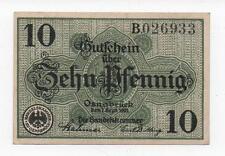 GERMANY OSNABRÜCK 10 PFENNIG 1917 BLA STAMPED NOTGELD EMERGENCY MONEY LOOK SCANS
