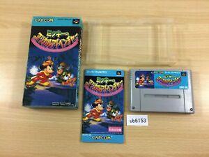 ub6153 Mickey no Magical Adventure BOXED SNES Super Famicom Japan