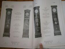 PFEIL MARKE D12 antik UHR BUCH VINTAGE ANTIQUE BOOK CLOCK HOUR WECKER GERMANY
