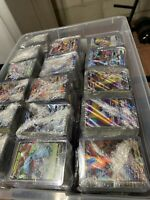 Pokemon Card Lot 100 Official TCG Cards Ultra RARE Included | GX EX or Break