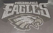 Philadelphia Eagles Rhinestone Iron on transfer, EASY, shirt, hoodie