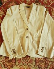 brand New Tommy hilfiger cotton jacket beige  Size 2 US/8 UK