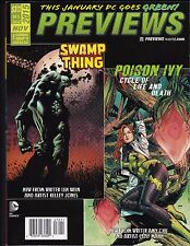 PREVIEWS THE COMIC SHOP'S CATALOG ISSUE 326 NOV 2015 SWAMP THING POISON IVY