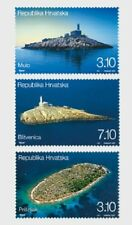 Lighthouses set of 3 stamps mnh 2011 Croatia #811-13
